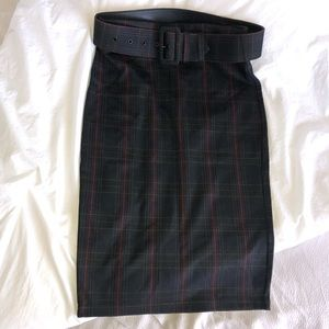 ✨Le Chateau✨ Plaid Pencil Skirt